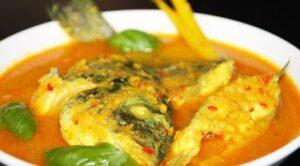 Resep ikan kuah kuning santan