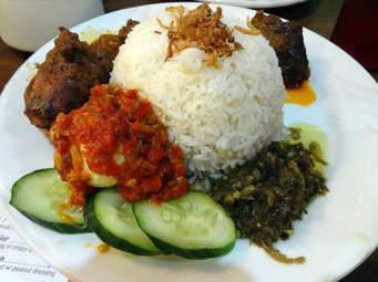 Nasi Padang Sambal Hijau