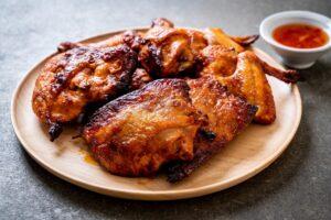 Resep ayam bakar pedas manis kecap bango